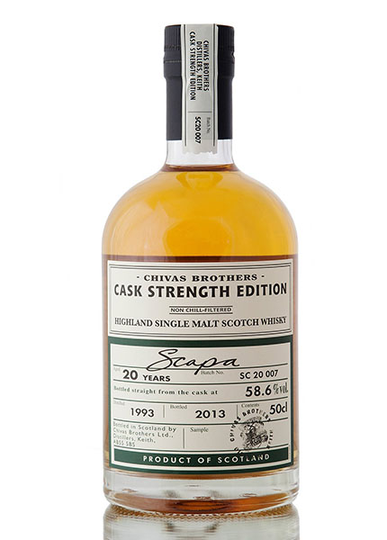 Scapa Cask Strength 20 y.o. 1993-2013
