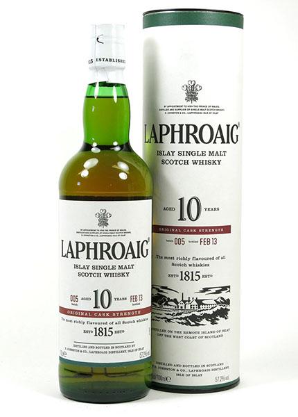 Laphroaig 10 y.o. Cask Strength Batch 5