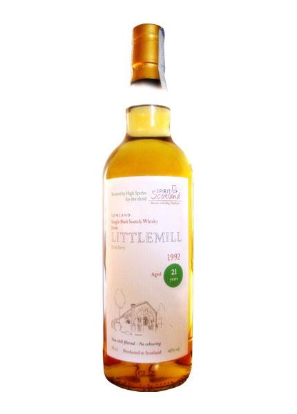Littlemill 21 y.o. 1992-2014  Spirit of Scotland