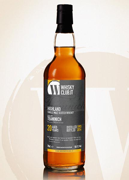 Teaninich 20 y.o. 1993-2014 WhiskyClub Italia