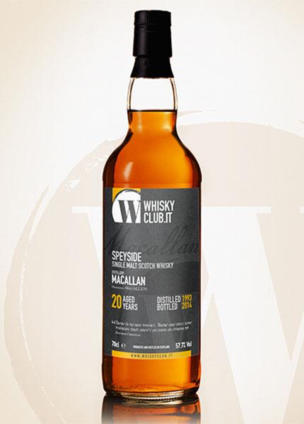 Macallan 20 y.o. WhiskyClub Italia