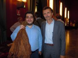 Con Enzo de Gregorio di Amazon