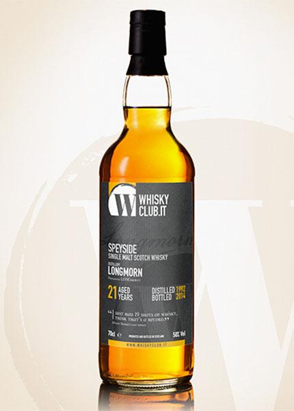 Longmorn 21 y.o. 1992-2014 WhiskyClub Italia