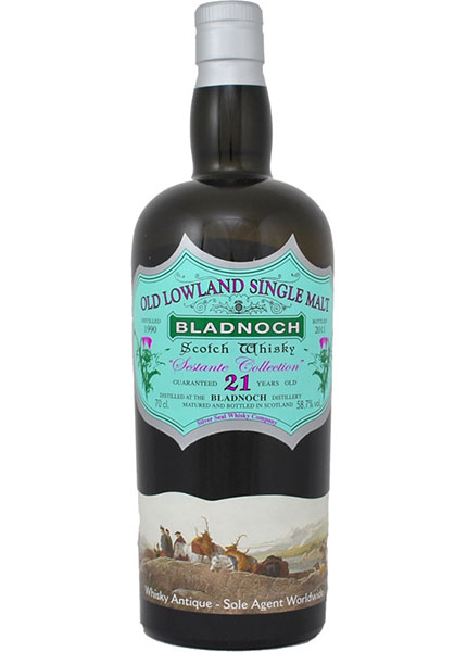 Bladnoch 21 y.o. 1990-2011 Silver Seal