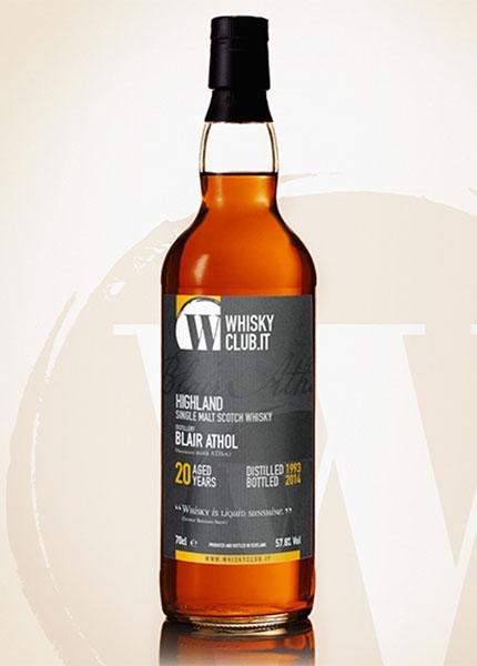 Blair Athol 20 y.o. 1993-2014 WhiskyClub Italia