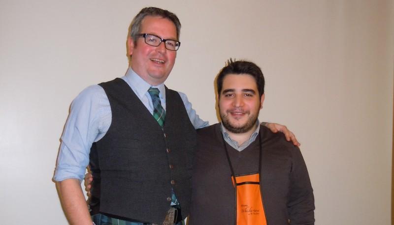 Con Mark Watt di Cadenhead's