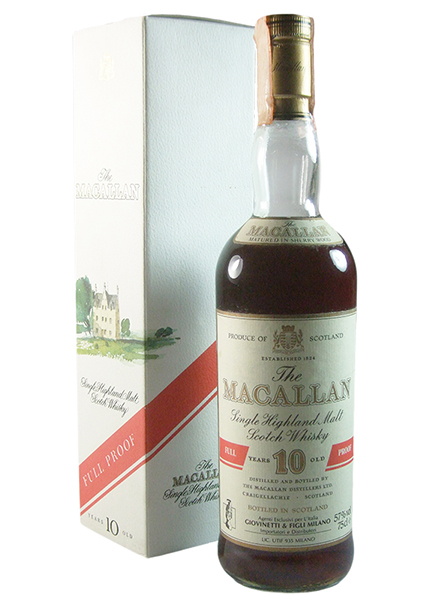 Macallan 10 y.o. Full Proof Giovinetti