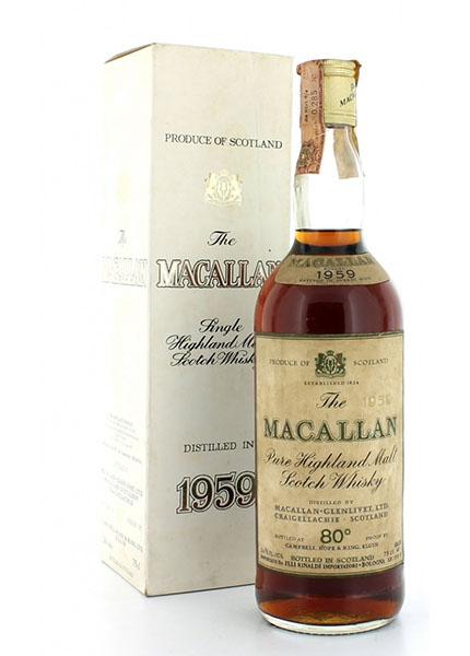 Macallan Vintage 1959 Rinaldi Import