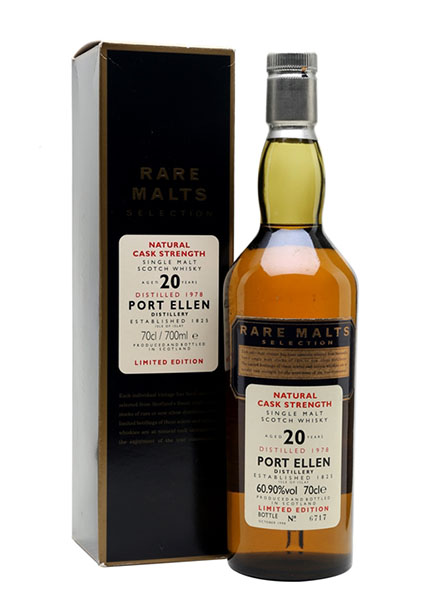 Port Ellen 20 y.o. 1978 Rare Malts