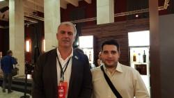 Con Havier Herrera, Direttore del Festival del Rum di Madrid