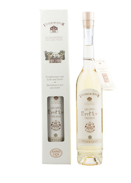 Unterthurner Grappa Popphof Barrique