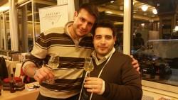 Con Emanuele Pellegrini!