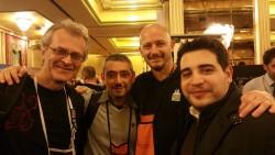 Rappresentanza forum MWF: Bob, Emiliano, Gianluca e il sottoscritto!