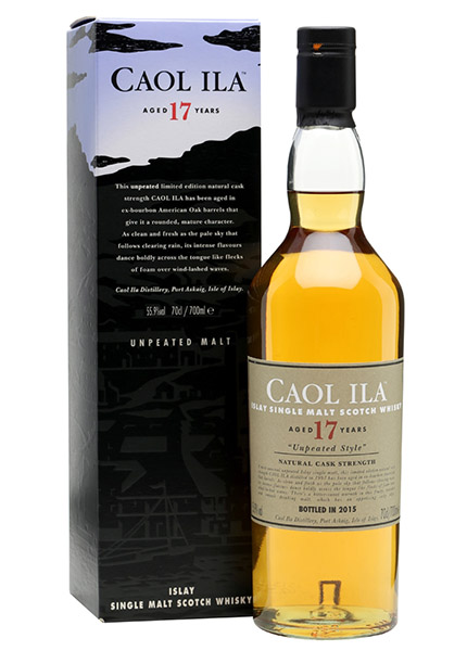 Caol Ila 17 y.o. Unpeated Special Release Diageo 2015