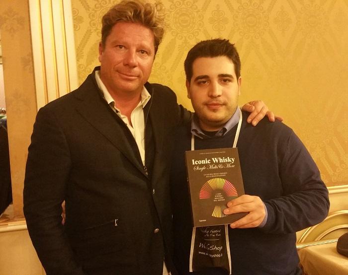 Con Cyrille Mald, uno degli autori di Iconic Whisky