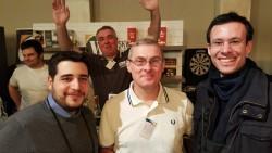 Con Salvatore, Federico e lo scalmanato Claudio!