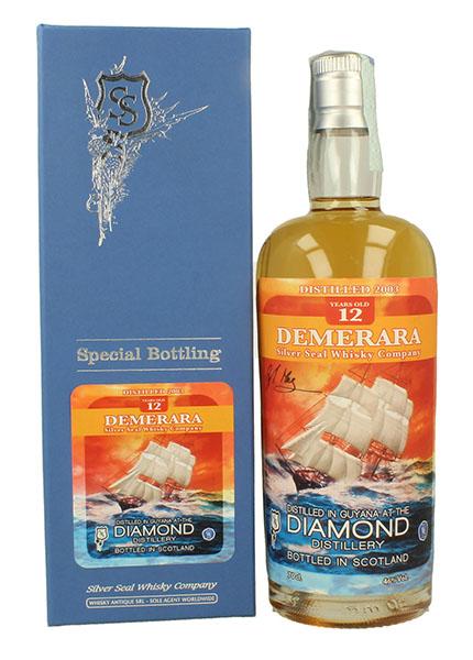 Demerara Diamond 12 y.o 1993-2016 Silver Seal