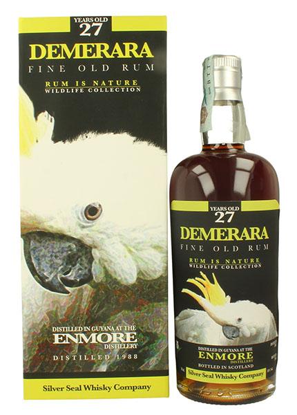 Demerara Enmore 27 y.o 1988-2016 Silver Seal