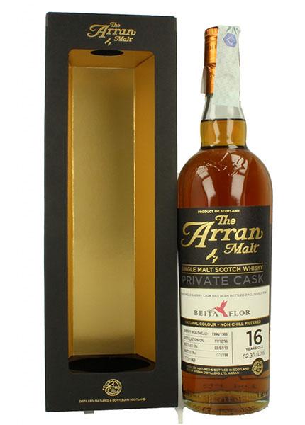 Arran 16 y.o. 1998-2013 for Beija-Flor Sherry