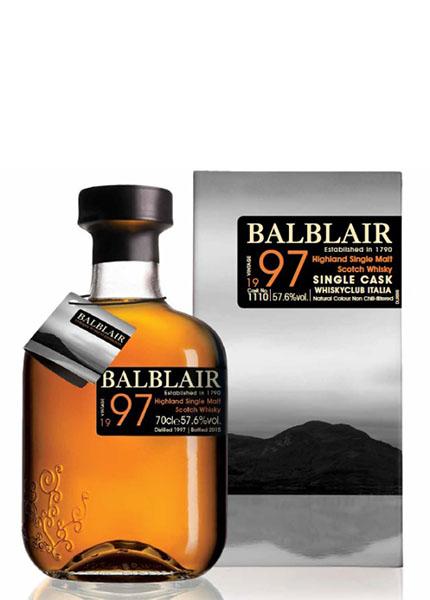Balblair 18 y.o. 1997-2015 WhiskyClub Italia