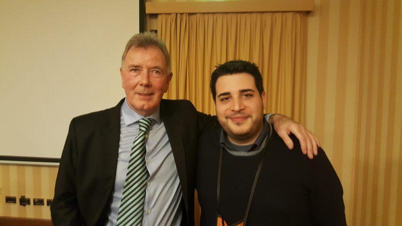Con Jim McEwan, leggenda vivente!