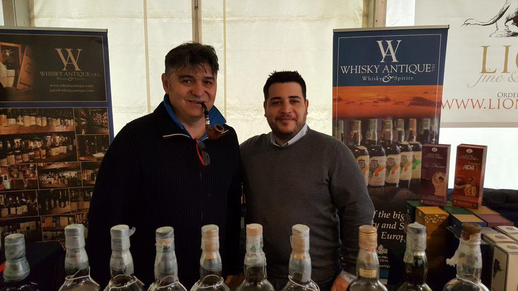 Con Max Righi - Limburg Whisky Fair 2017