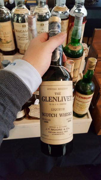 Dettaglio del Glenlivet 1906 - Limburg Whisky Fair