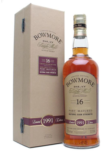 Bowmore 16 y.o. 1991-2007 Port Matured