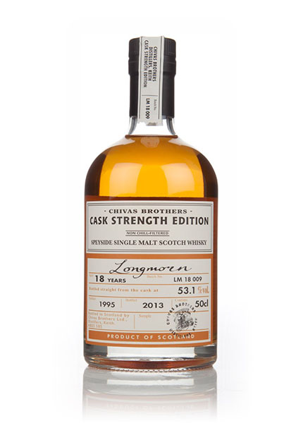 Longmorn 18 y.o. Cask Strength 1995-2013