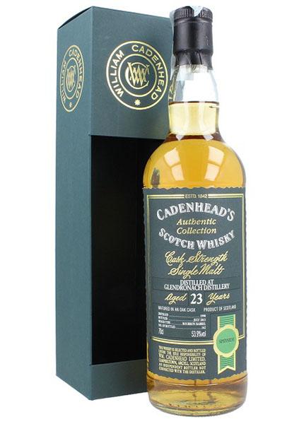 Glendronach 23 y.o. 1990-2013 Cadenhead's