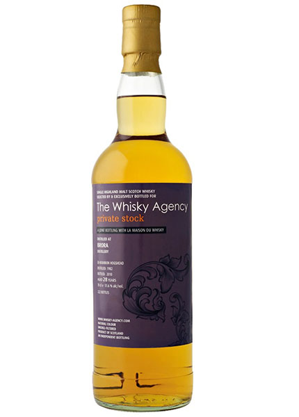 Brora 28 y,.o. Whisky Agency for LMDW