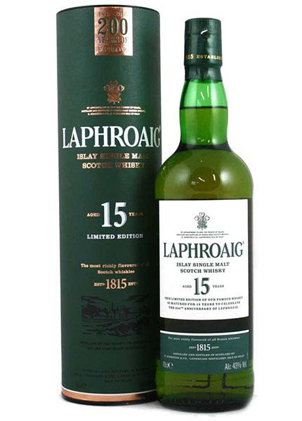 Laphroaig 15 y.o. 200th Anniversary Limited Edition 2015