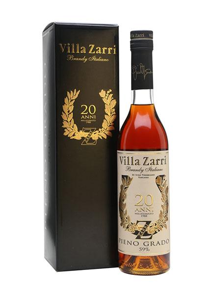 Villa Zarri Brandy 20 anni 1988 Pieno Grado