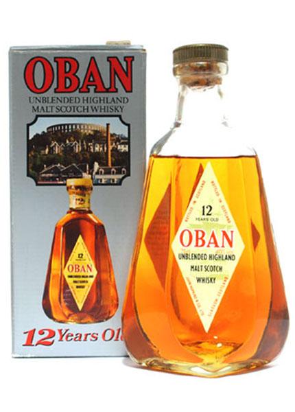 Oban 12 y.o. Pear Bottle anni 70