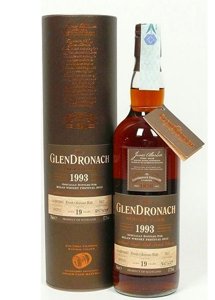 GlenDronach 19 y.o. 1993-2012 for Milano Whisky Festival