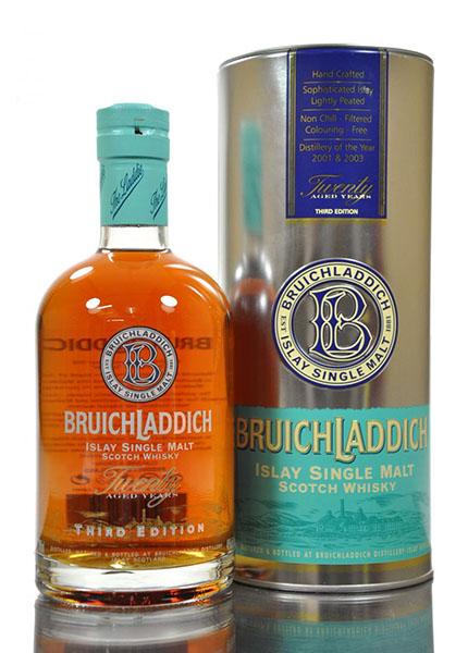 Bruichladdich 20 y.o. Third Edition