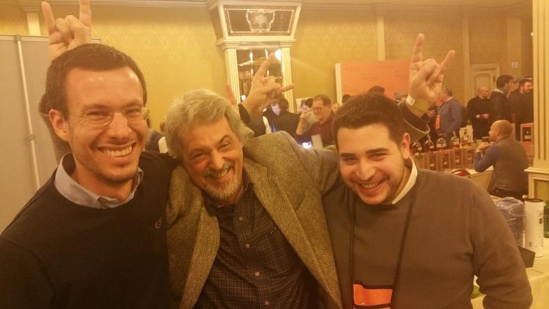 Con Maurizio e Federico, grandi come sempre!