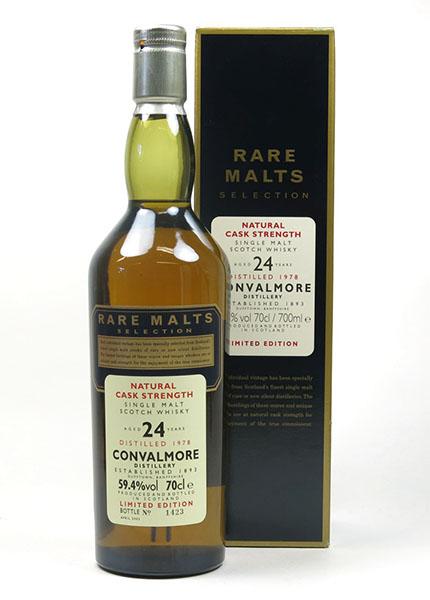 Convalmore 24 y.o. 1978-2003 Rare Malts