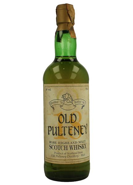 Old Pulteney 20 y.o. 1968-1988 Sestante